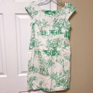 Lilly pulitzer toile dress size 4